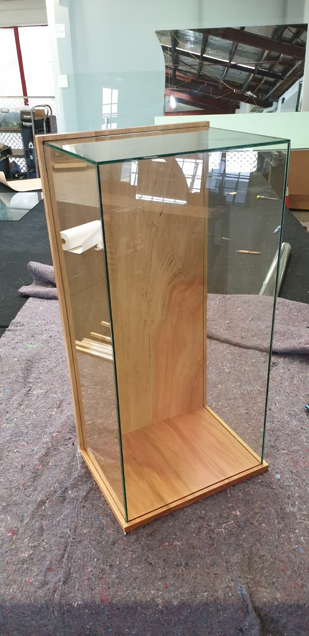 Glass Trophy Display Case
