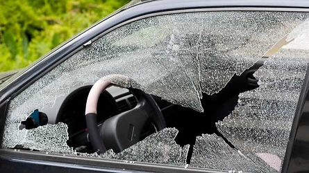 Smashed Side Glass