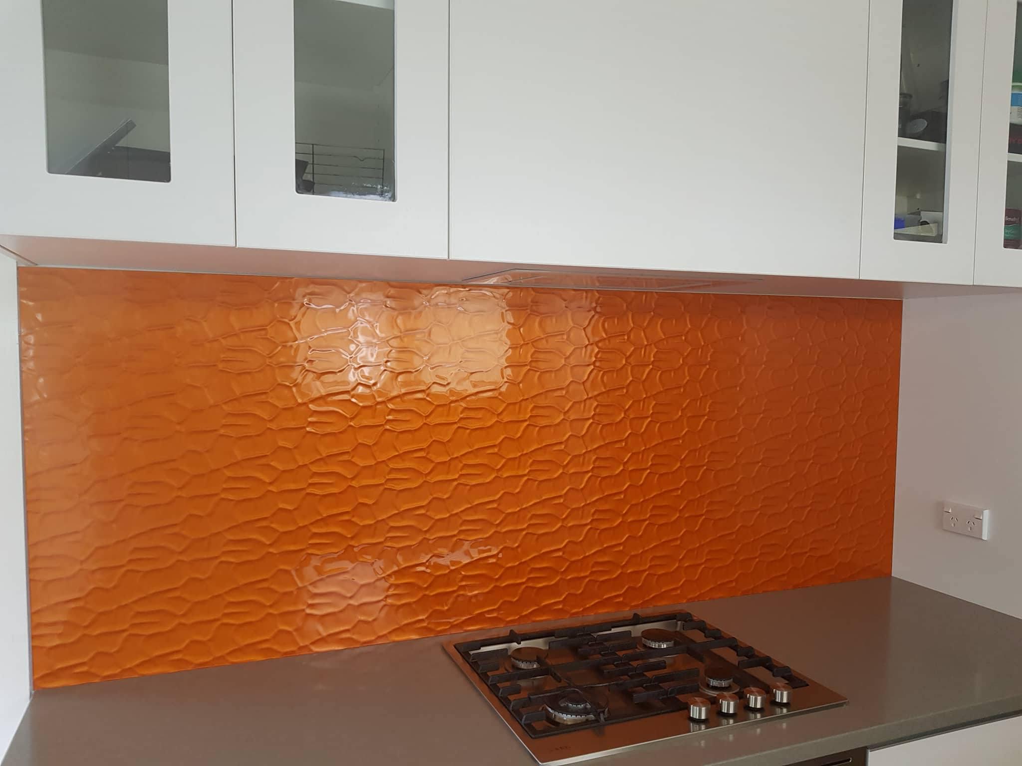 Flemish Glass Splashback