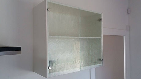 Cotswald Glass Kitchen Cupboard Fronts