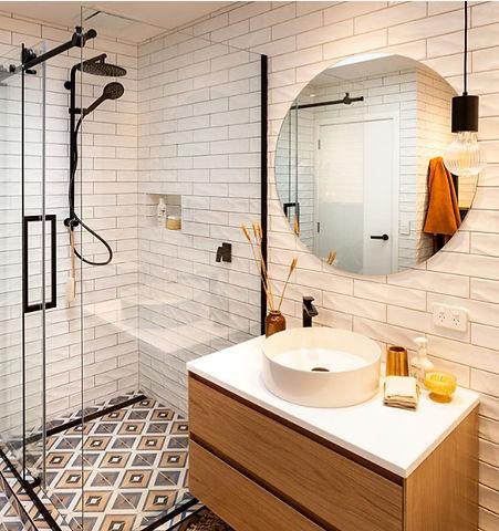 Circle Bathroom Mirror