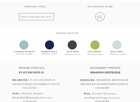 Style Guide Template - Free