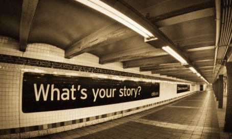 Tell stories: write more business