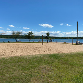 Volleyball Courts at Sandy Beach