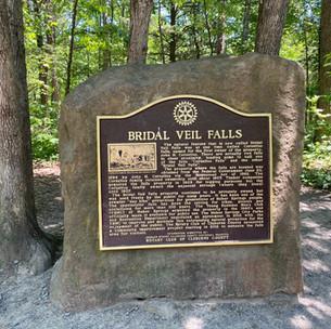 Sign at Bridal Veil Falls