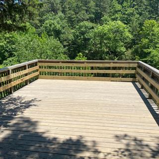 Overlook at Bridal Veil Falls