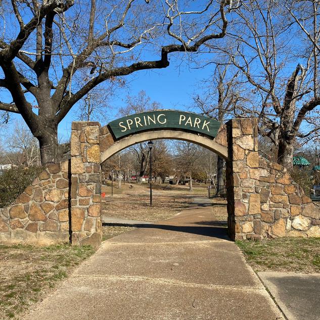 Spring Park Enterance