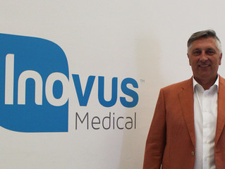 Inovus Medical appoints export champion as Chairman