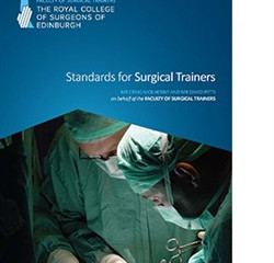 Royal college of Surgeons of Edinburgh announce new 'standards' of surgical training