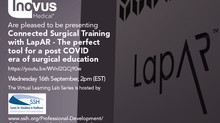 Inovus Medical to present at the SSH Virtual Learning Lab - Connected Surgical Training with LapAR™