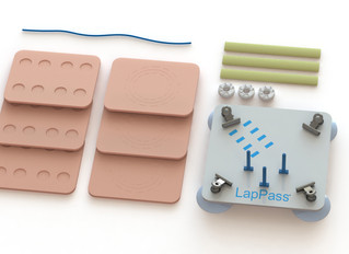 Inovus Medical appointed as the official manufacturer and supplier of the LapPass® training kits in