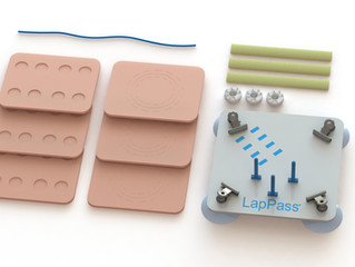 Inovus Medical appointed as the official manufacturer and supplier of the LapPass® training kits