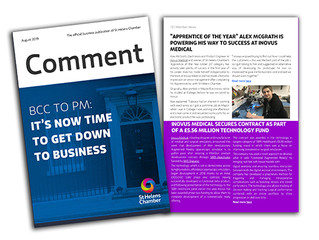 Latest edition of Comment, St Helens Chamber Magazine out now!