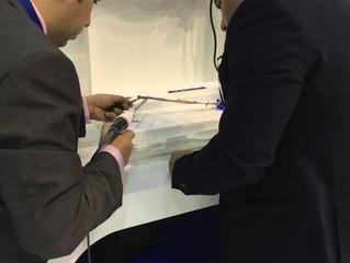 Custom vessel sealing simulator in use at Arab Health 2016