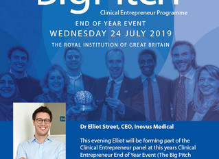 The Big Pitch - Clinical Entrepreneur Programme End of Year Event