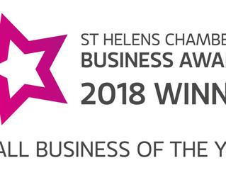 Inovus Win Small Business of the Year Award