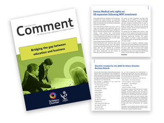 Inovus Medical feature in the latest edition of Comment