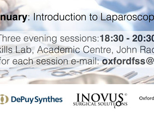 Inovus supporting Oxford Foundation Surgical Society