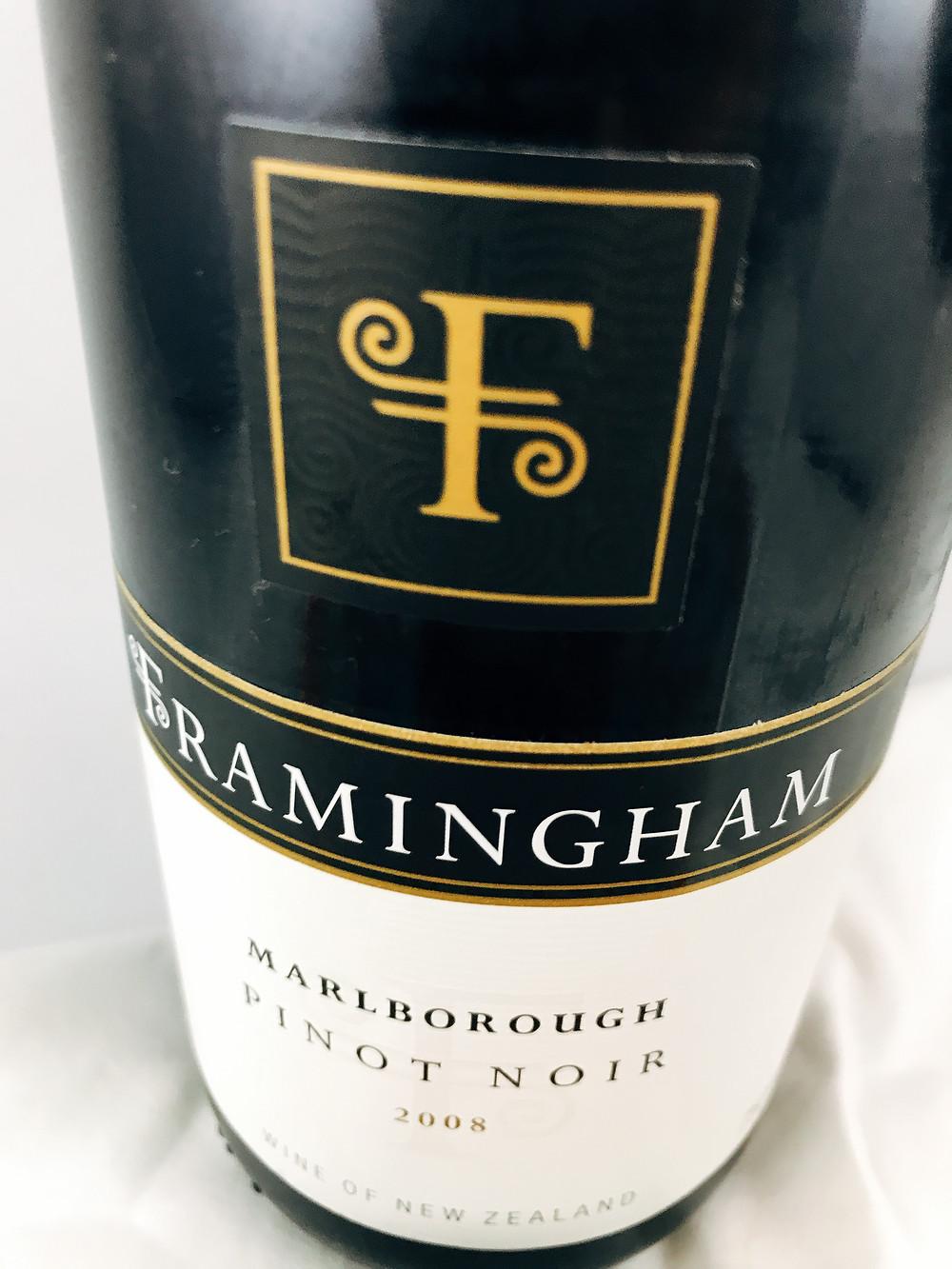 Framingham Pinot Noir 2008