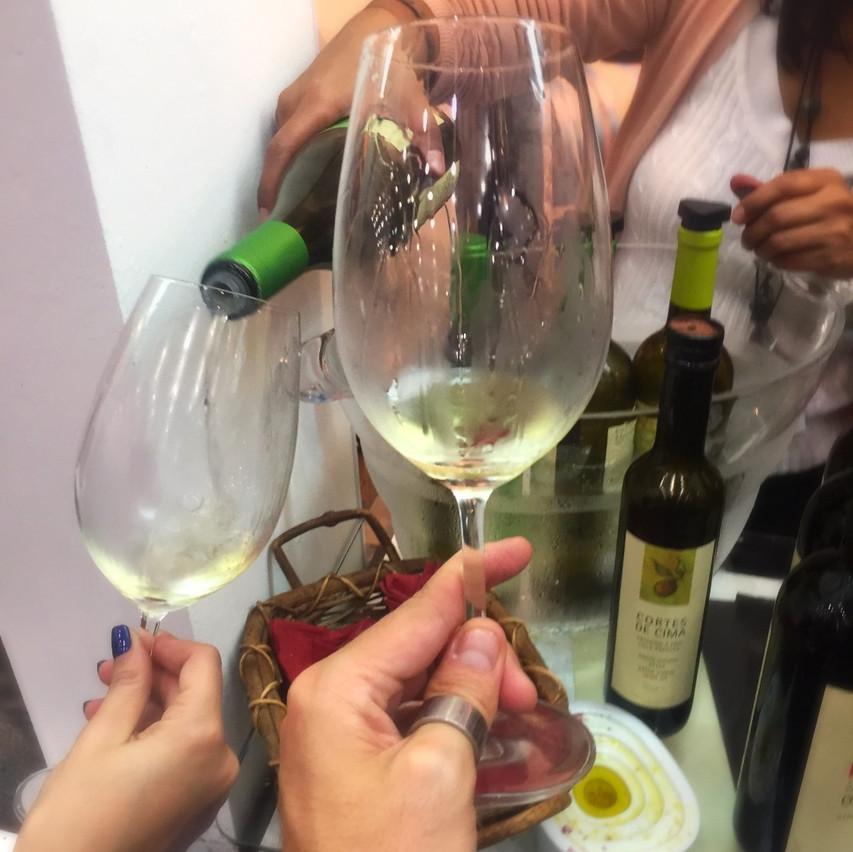 Cortes de Cima Prova Vinhos Brancos