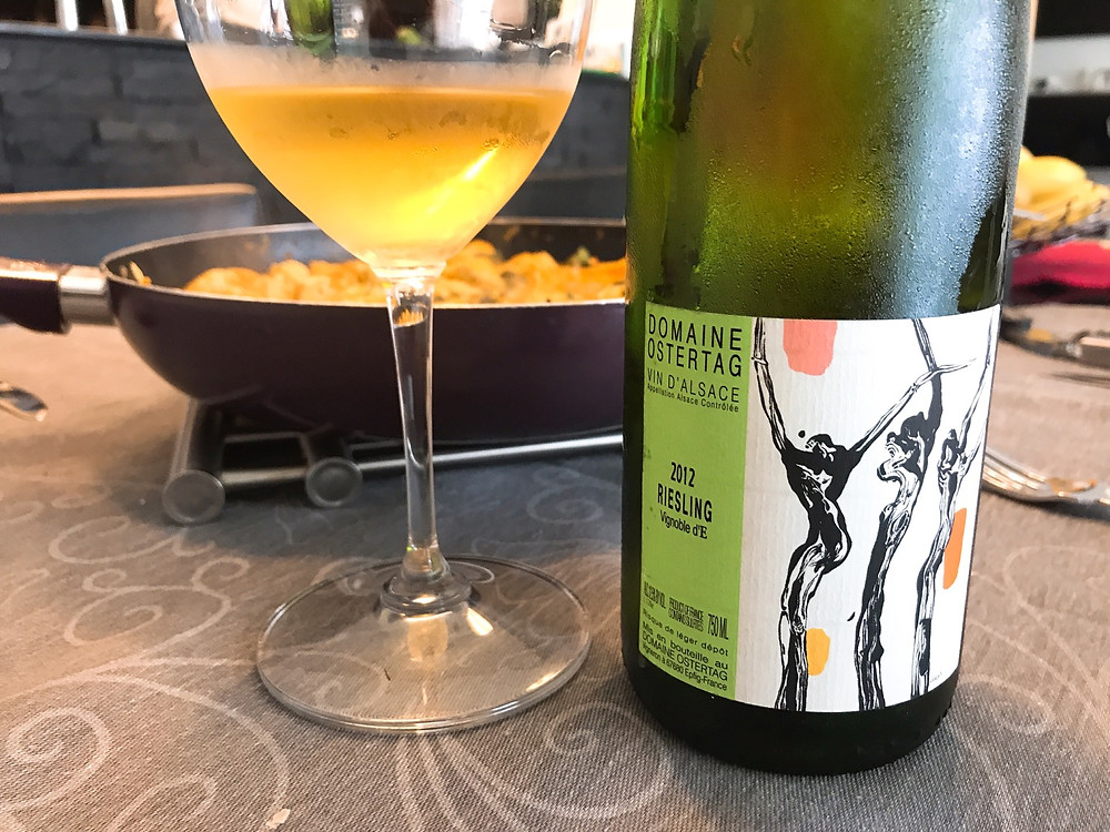 Domaine Ostertag Vignoble d'E Riesling 2012
