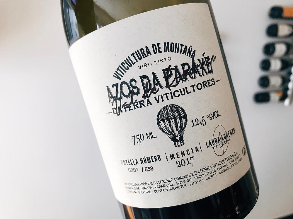 Daterra Viticultores Azos de Paraxe Mencía 2017