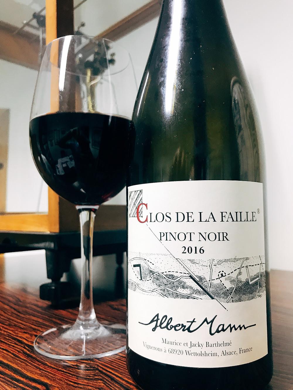 Albert Mann Pinot Noir Clos de la Faille 2016
