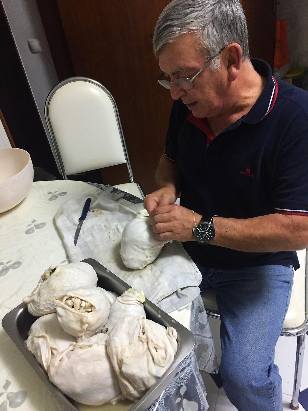 Costurar o Tortulho