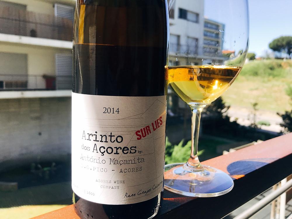 """Arinto dos Açores """"Sur Lies"""" 2014"""