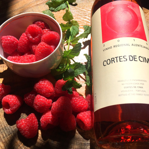 Sorvete Vinho Rosé