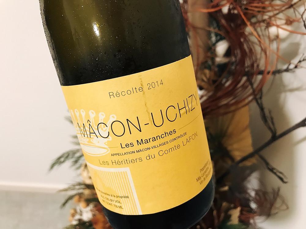 Les Héritiers du Comte Lafon Les Maranches Mâcon-Uchizy 2014