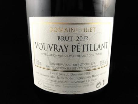 Domaine Huet Brut 2012 Vouvray Pétillant