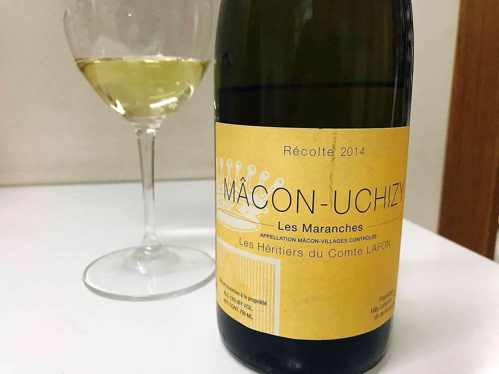 Les Héritiers du Comte Lafon - Les Maranches Mâcon-Uchizy 2014