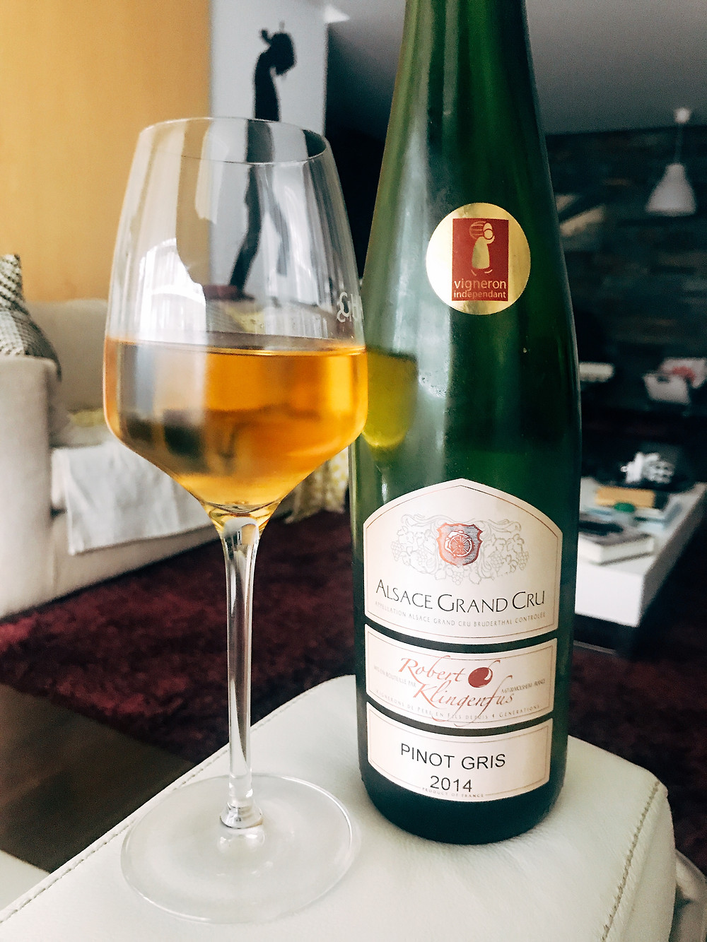 Robert Klingenfus Pinot Gris Grand Cru Bruderthal 2014