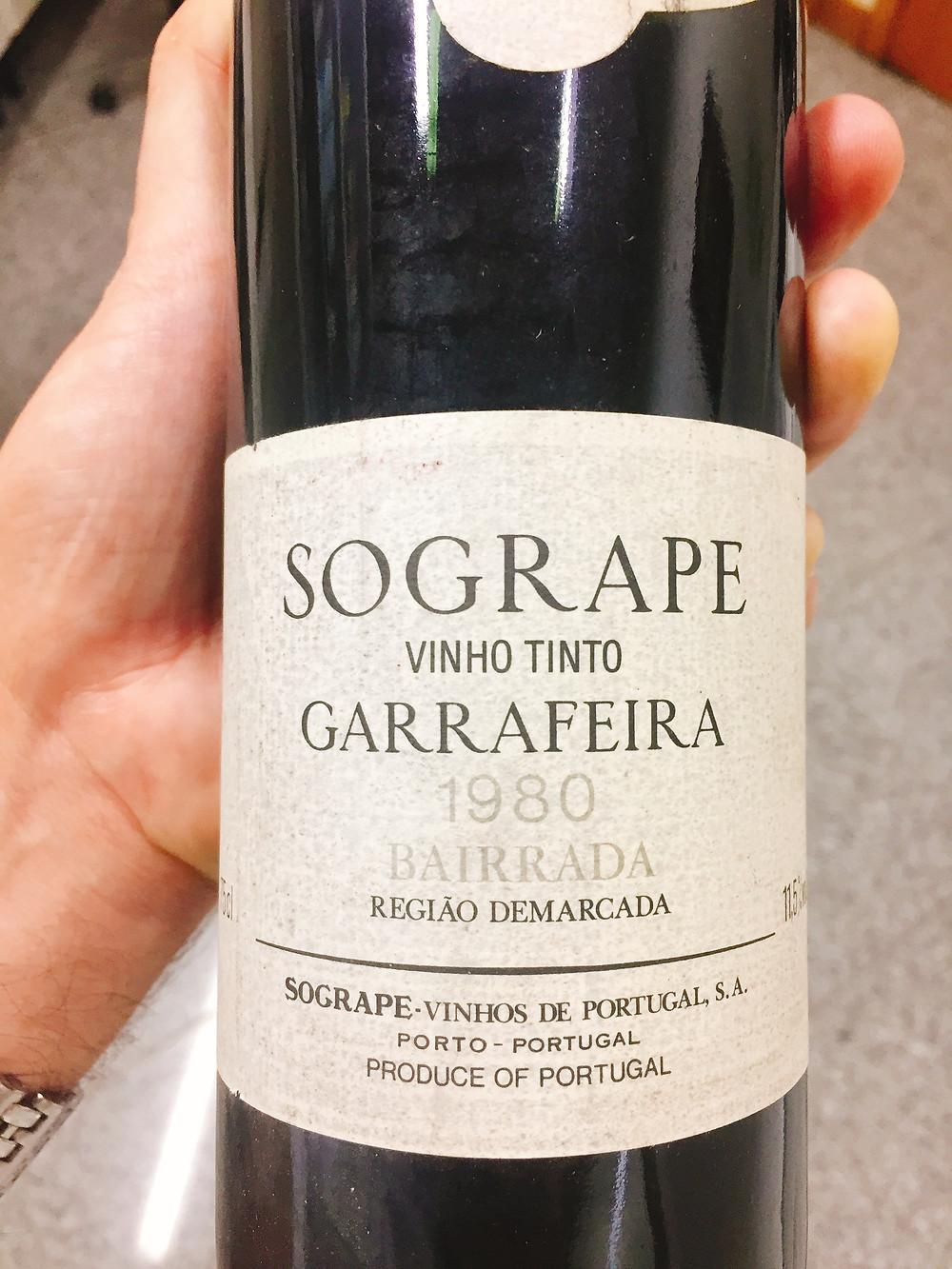 Sogrape Tinto Garrafeira 1980
