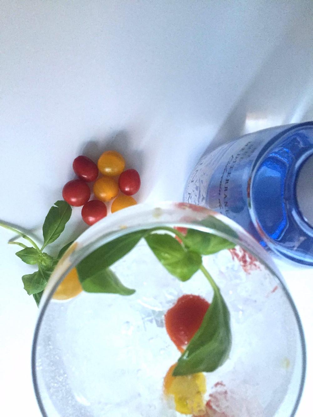gin mare majericão