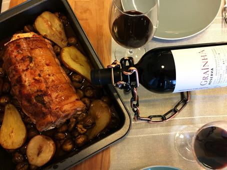 Inverno à porta?! Comida e Vinho de Conforto. Grainha Reserva Tinto 2012