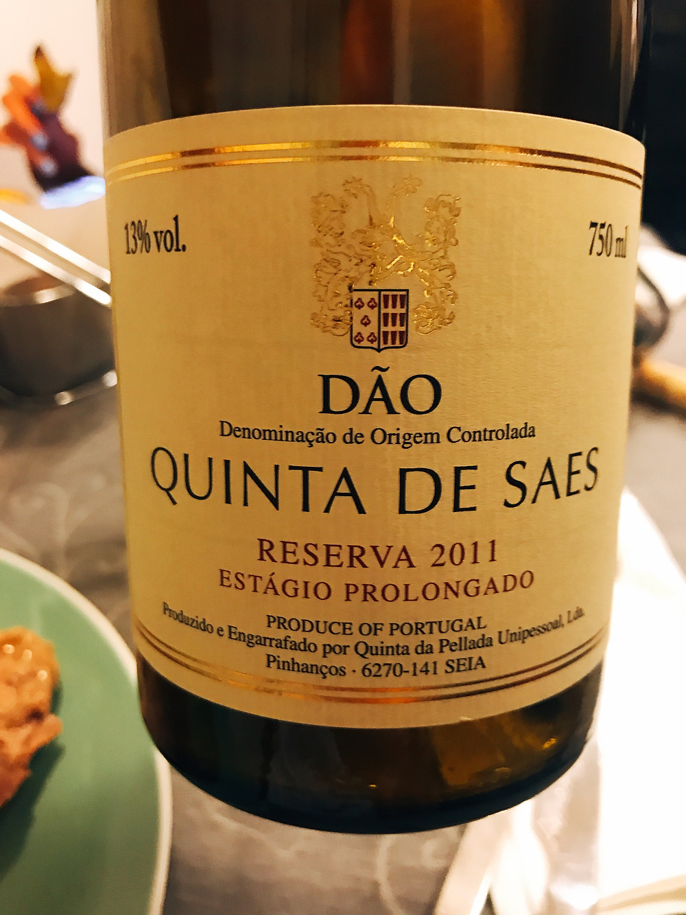 Quinta de Saes Estágio Prolongado Late Release 2011
