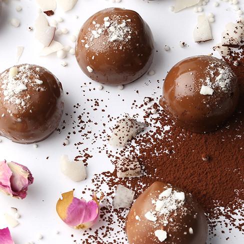 Noix de coco au chocolat