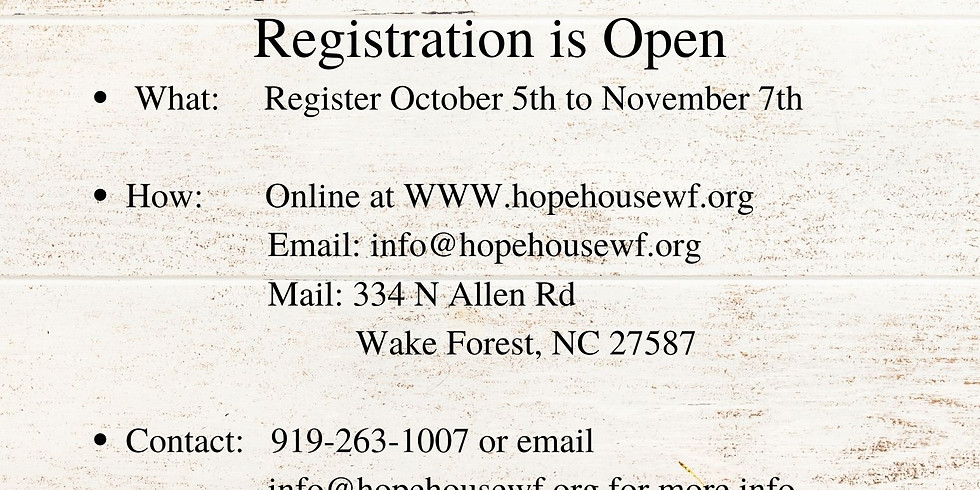 Angel Tree 2020 Registration