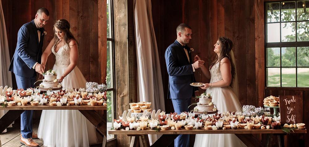 Eugene_Oregon_Wedding_Photographer_Cake_Cutting_at_Jasper_House_Farm