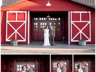 Katie and Chris' Red Barn Studios Wedding, Oregon Wedding Photographer