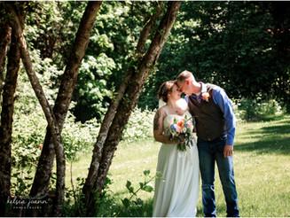 Tessa + Tyler, Cottage Grove, Oregon Wedding Photographer