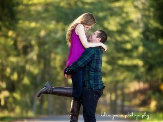 Jennifer + Junior Engagement, Eugene, Oregon Wedding Photographer