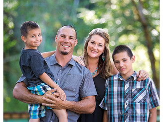 Stiner Family Portraits - Eugene, Oregon Family Photographer