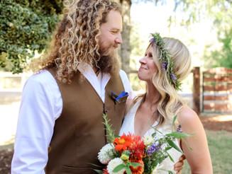 Corrina and Daniel's Backyard Wedding, Eugene, Oregon Wedding Photographer