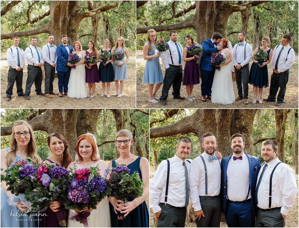 Wedding Party at Mount Pisgah