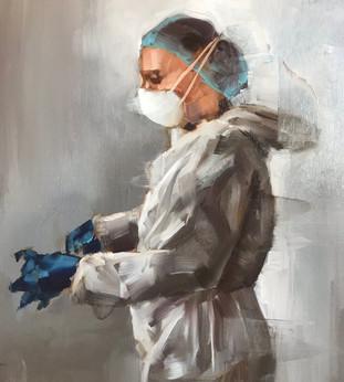 Getting Ready To Go Into Battle // Heather Olson — Fine Art