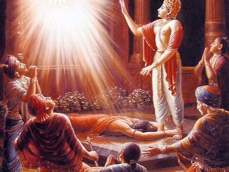 El gran devoto Ambariṣa Maharaja
