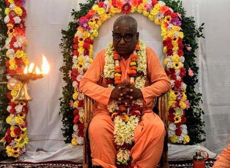 Vyasapuja 64 de Srila BV Bishnu Maharaj